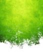 Leinwandbild Motiv abstract green paint