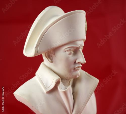 Photo Statue portrait en albâtre de  Napoléon Bonaparte