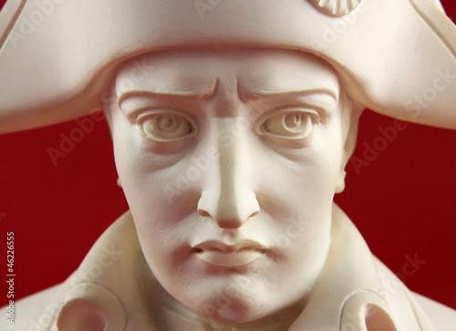 Sculpture portrait en albâtre de  Napoléon Bonaparte Canvas Print