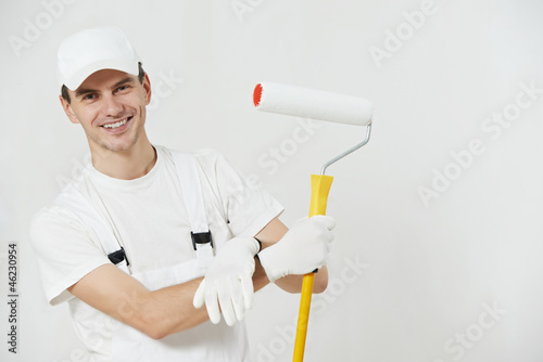 Fotografía  Portrait of house painter worker