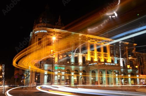 Obraz Lublin nocą - fototapety do salonu