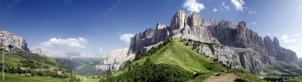 Fototapeta Panoramica sulle Dolomiti
