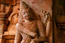 Gottheit, Tempel Von Pattadaka...