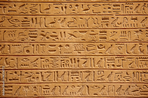 Egyptian hieroglyphics
