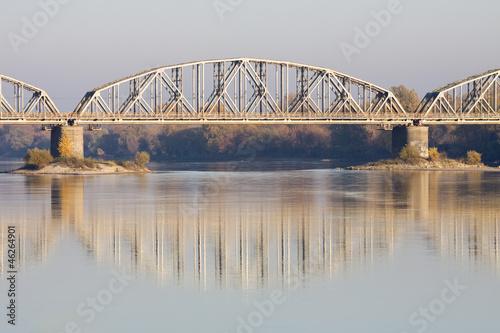 Fototapeta Most kolejowy obraz