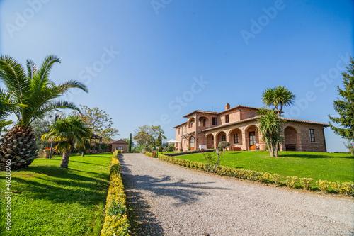 Fotografie, Obraz  Tuscan landhouse / villa