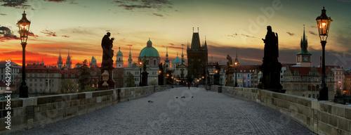 Foto op Plexiglas Praag Charles Bridge in the Prague