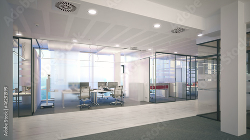 Fotografie, Obraz  exklusives Büro - exclusive Office
