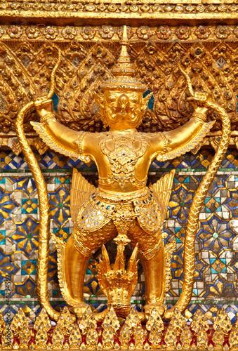 Photo  sculpture in temple thailand