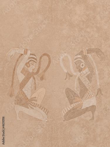 Fotografie, Obraz  particolare di un rilievo egizio