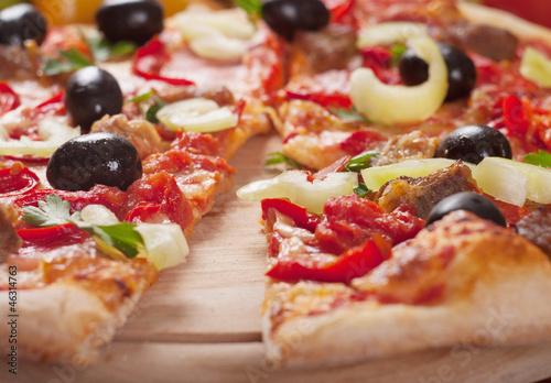 Poster Fleur pizza