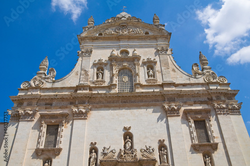 Valokuva  Mother church. Galatina. Puglia. Italy.