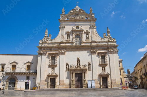 Fototapeta  Mother church. Galatina. Puglia. Italy.