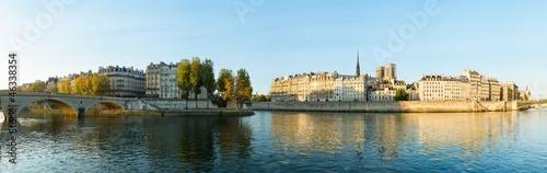 Cuadros en Lienzo Paris ile saint-louis et ile de la cité