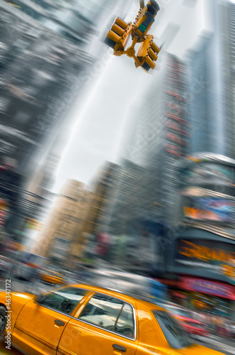 taxi-a-new-york-times-square-usa