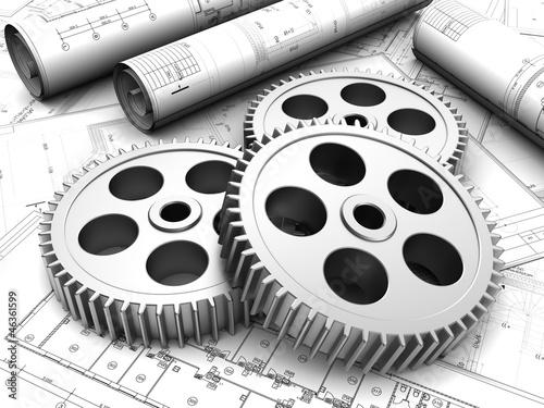 Fotografía  Industrial plan