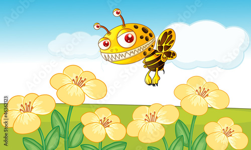 Foto op Canvas Schepselen a bee