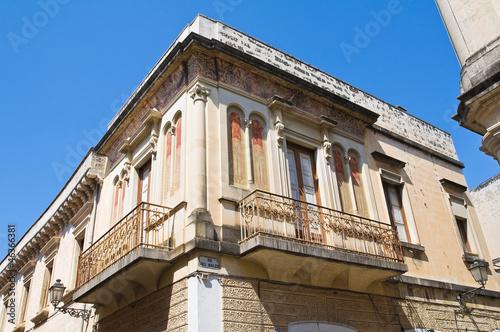 Valokuva  Historical palace. Galatina. Puglia. Italy.