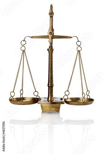 Fotografija  the scale of justice