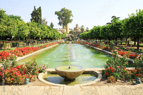 Alcazar garden- Cordoba - Andalucia - Spain