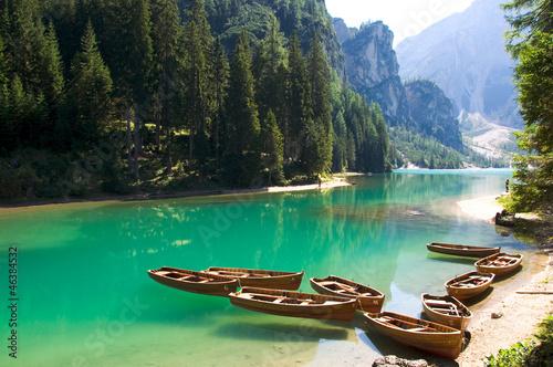 Foto  Pragser Wildsee - Dolomiten - Alpen