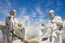 Plato And Socrates,the Greates...