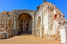 1812 Earthquake Ruins Mission San Juan Capistrano