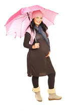 Beauty Autumn Pregnant Woman