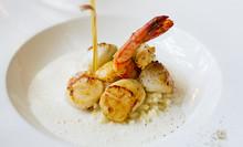 Noix Saint Jacques Cuisiné