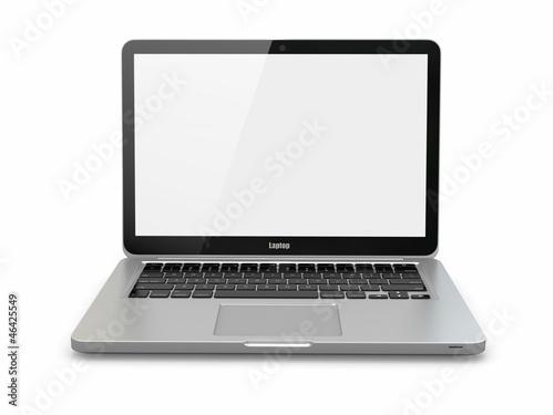 Fotografia  Laptop. 3d