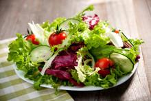 Fresh Mixed Organic Salad
