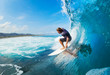 canvas print picture - Surfing