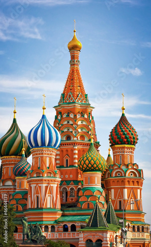 Photo  Moscow, Russia, Saint Basil's cathedral
