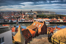 Whitby West Cliff, North Yorkshire