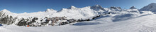 Alpine Scene - Belle Plagne Village Ski Resort