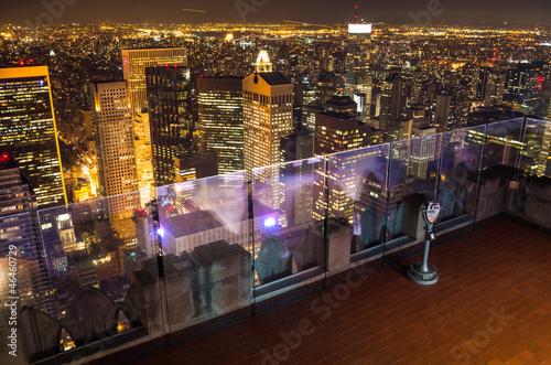 Keuken foto achterwand New York view of new york