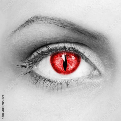 Photo  Vampire eyes
