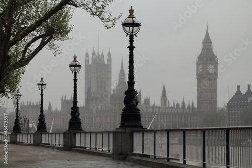 Fototapety, obrazy: Big Ben & Houses of Parliament