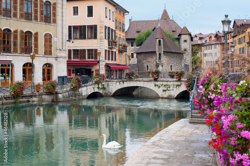 Annecy in september Canvas Print