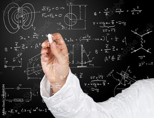 Fotografie, Obraz  Physics diagrams and formulas