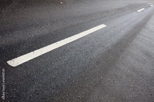 Fotografie, Obraz  Droga / asfalt