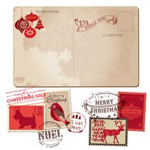 Vintage Christmas Postcard And...