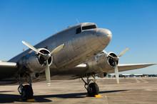 Vintage DC-3 Airplane