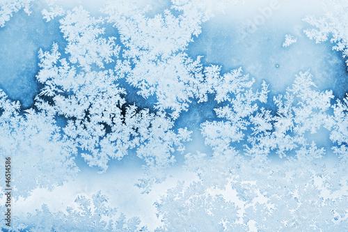 Fotografie, Obraz  winter rime background