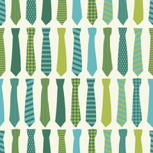 Seamless Necktie Pattern