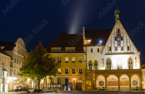 town hall of Amberg Canvas Print