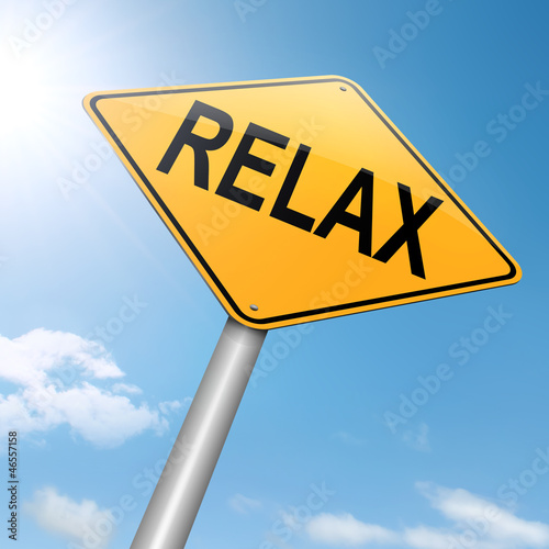 Photo  Relax concept.