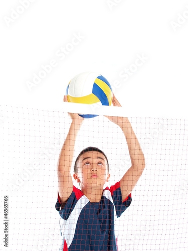 volleyball spielen плакат