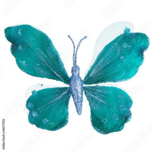 Türaufkleber Wasser Butterfly Christmas tree ornament