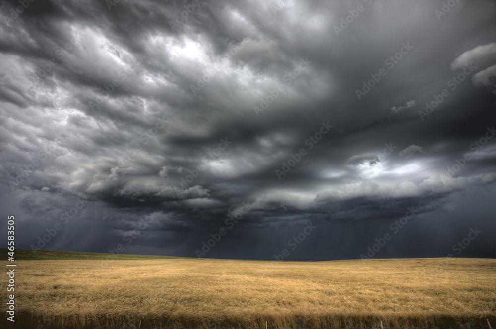 Fototapeta Storm Clouds Saskatchewan